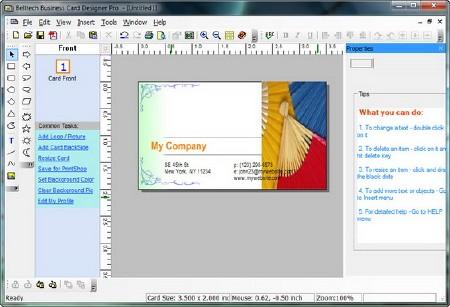 Portable Belltech Business Card Designer Pro v5.4.0