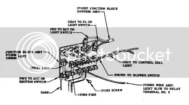 chevy truck fuse box diagram stud thread