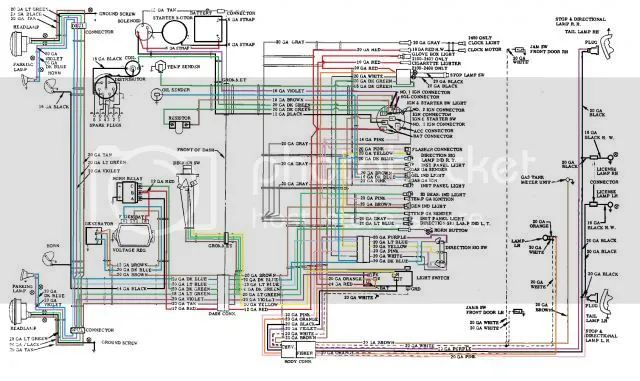 56 chevy truck alternator wiring diagram