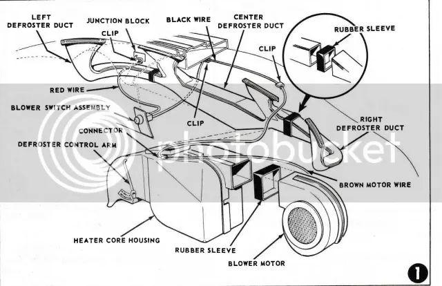 1955 1955 1956 chevrolet heater defrost control lever nos