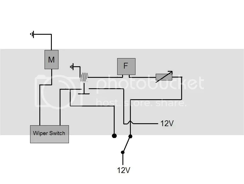 supposed to be an intermittent wiper circuit i thought up