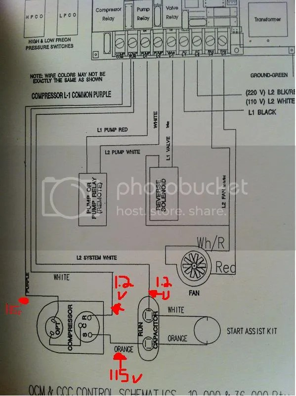 110 Volt Wiring Diagrams 115v Ac Marine A C Help With Wiring Diagram Electrical
