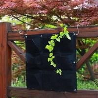Garden Hanging Planter Bag Indoor Outdoor Wall Balcony ...
