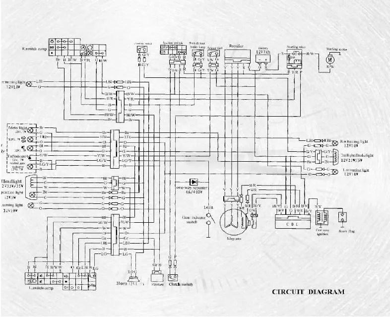 crf250x wiring diagram crfx motorcycle service manual honda online