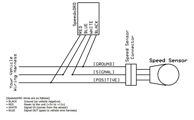 3 wire speed sensor diagram