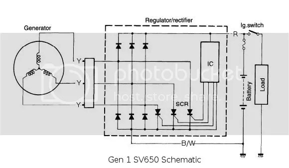 Small Engine Voltage Regulator Wiring Diagram - Example Electrical