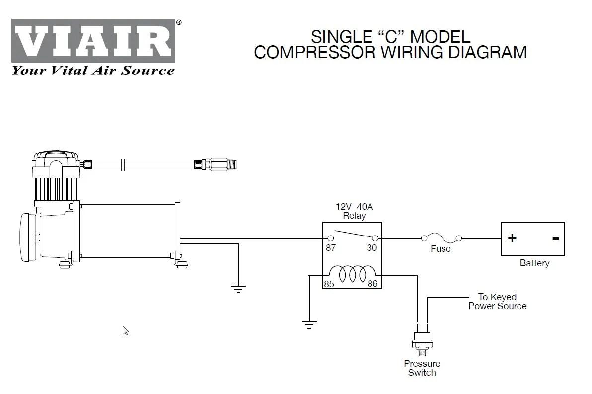 Air Compressor 12 Volt Light Wiring Diagrams Wiring Schematic Diagram