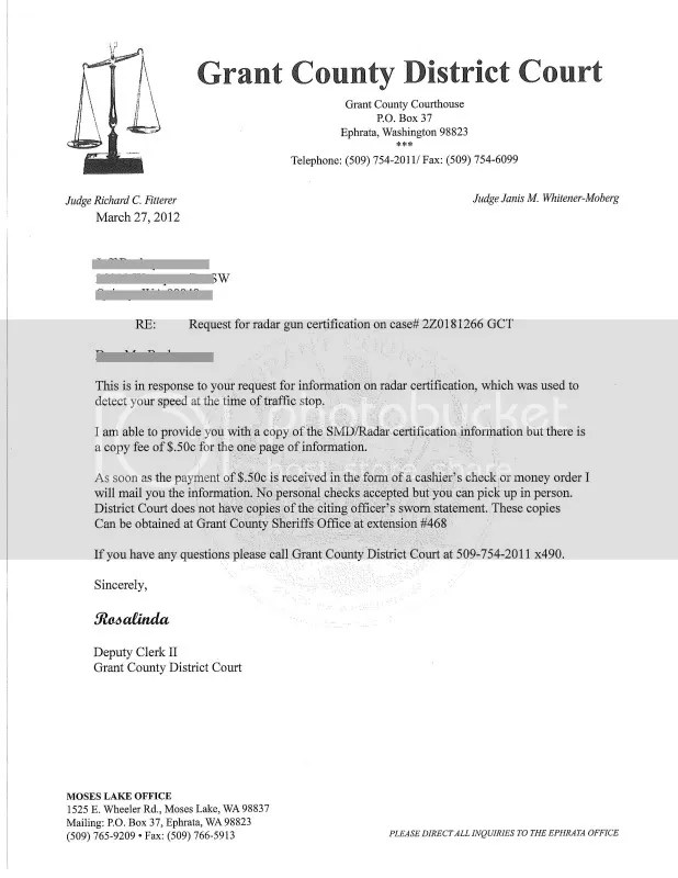 informal discovery request letter - Brucebrianwilliams - information request letter
