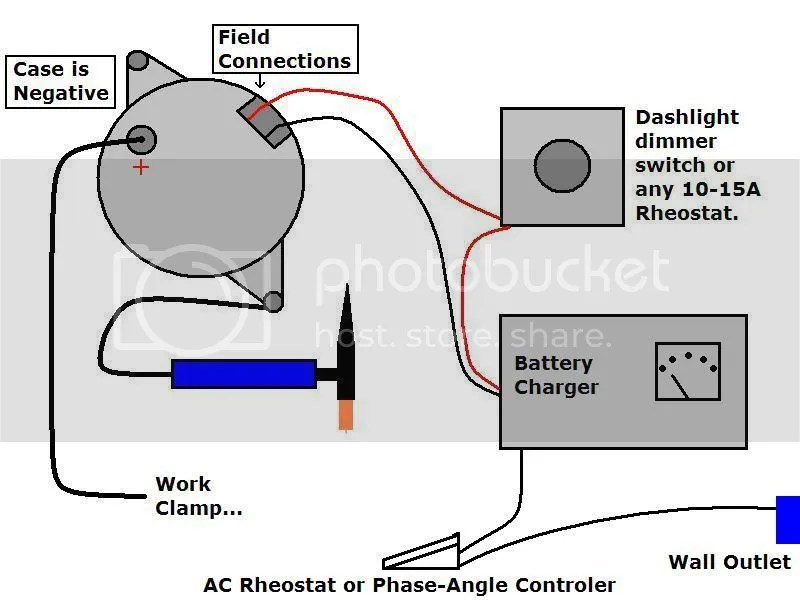 Anyone welded with auto alternator?