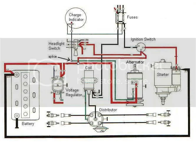 engine wiring diagram - Scale Auto Magazine - For building plastic