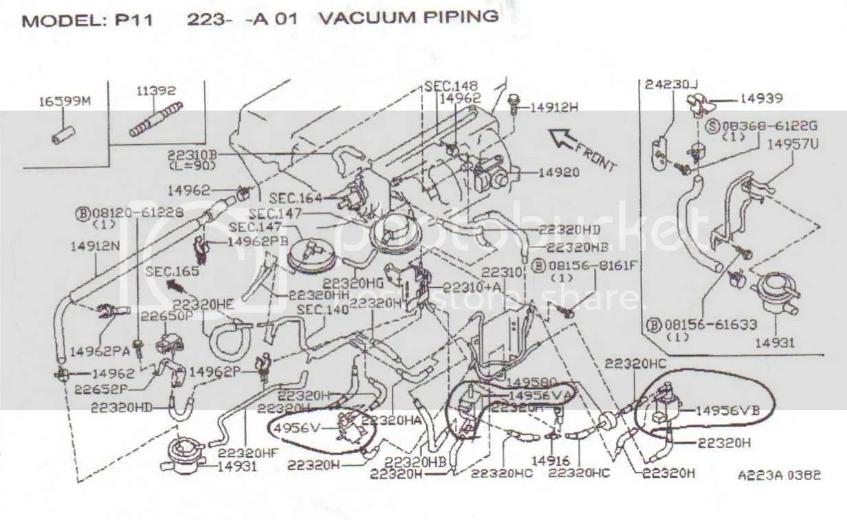 infiniti g20 vacuum diagram