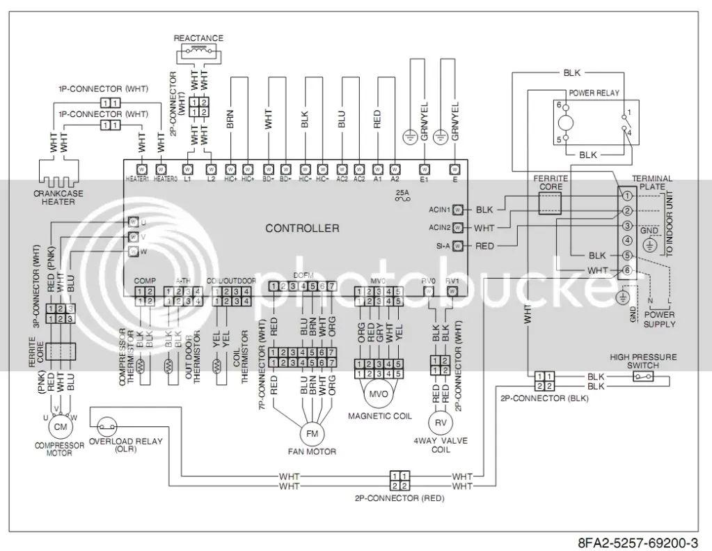 mini split air conditioner wiring diagram besides air conditioner