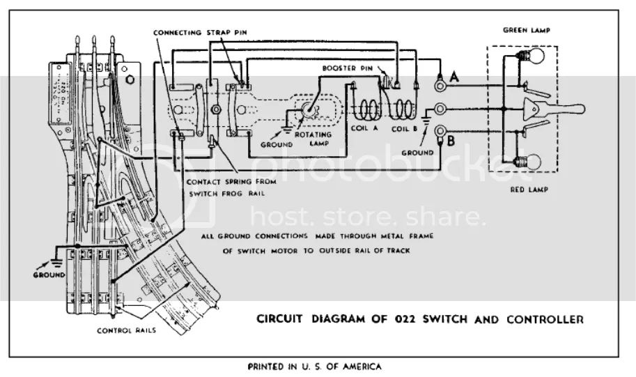 lionel switch wiring diagram