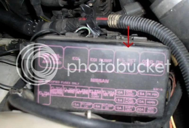 1992 nissan 240sx fuse box