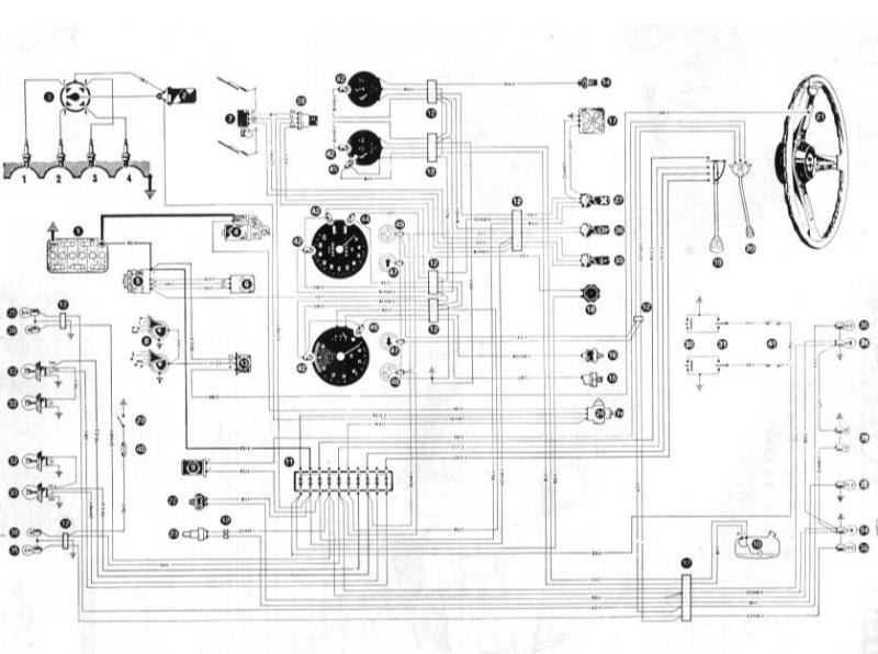 alfa romeo schema cablage debimetre