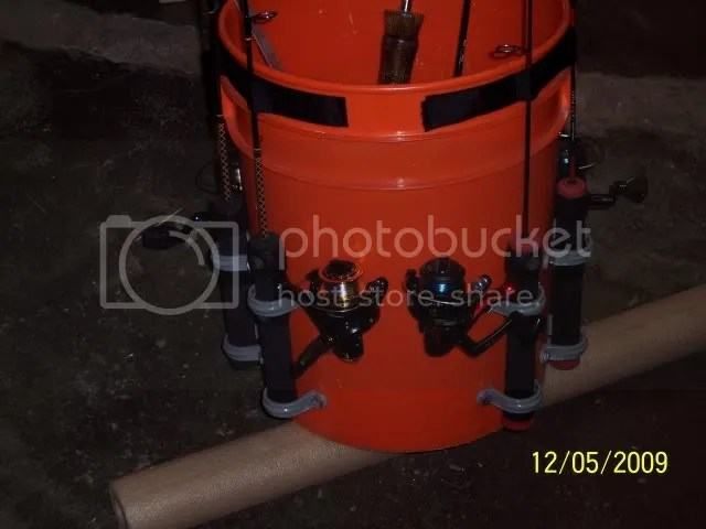 Bucket Rod Holders