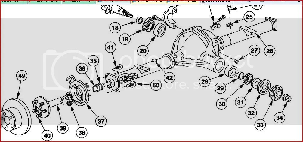 1999 F350 Rear End Diagram - Wiring Diagrams
