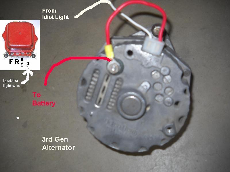 1 Wire Alternator Wiring Diagram 8n standard electrical wiring diagram