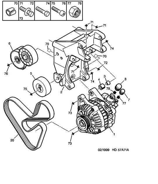 schema moteur citroen xsara picasso