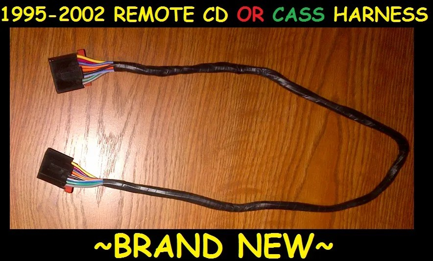 CHEVY GMC GM DELCO REMOTE SLAVE CD PLAYER OR CASSETTE WIRE WIRING
