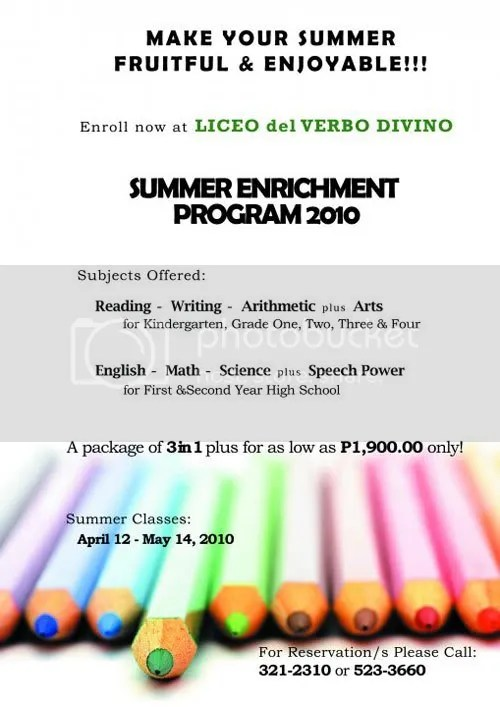 Summer enrichment program at LVD