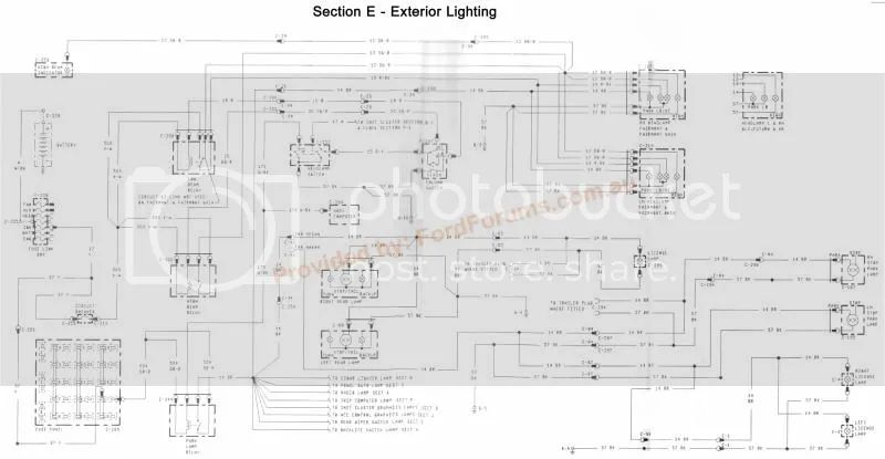 ford xg ute wiring diagram