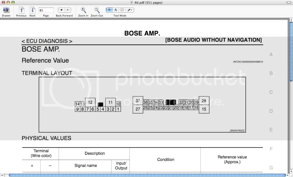 Who Wants Bose Wiring Diagrams!! - Nissan 370Z Forum