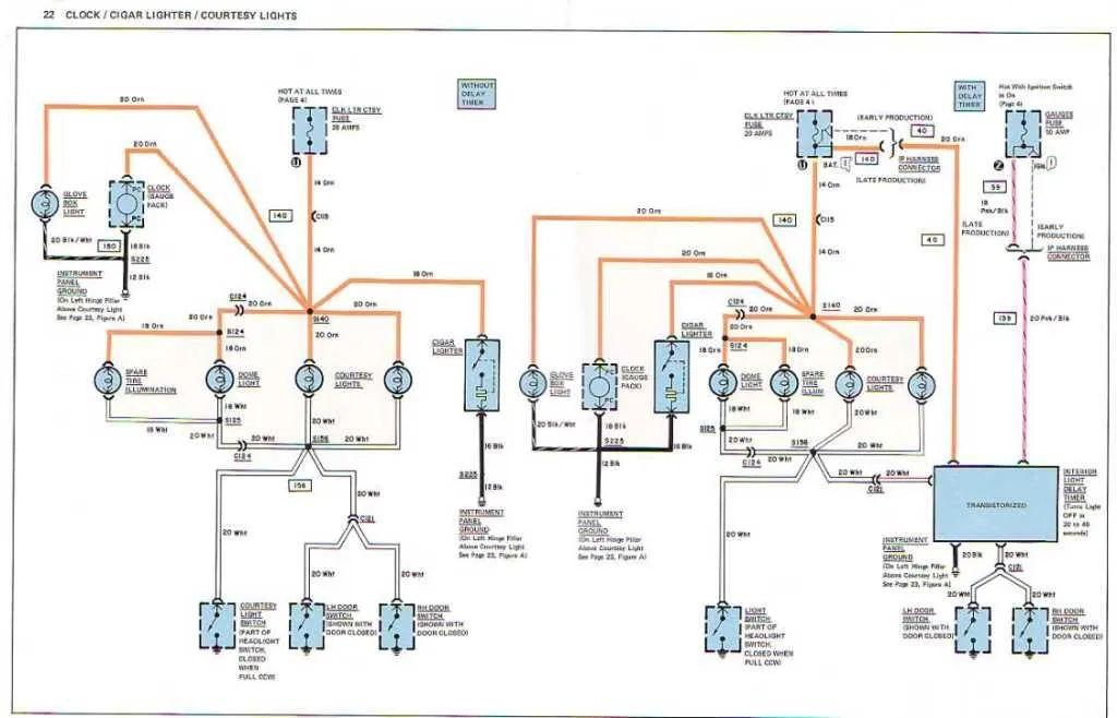 77 corvette wiring diagram
