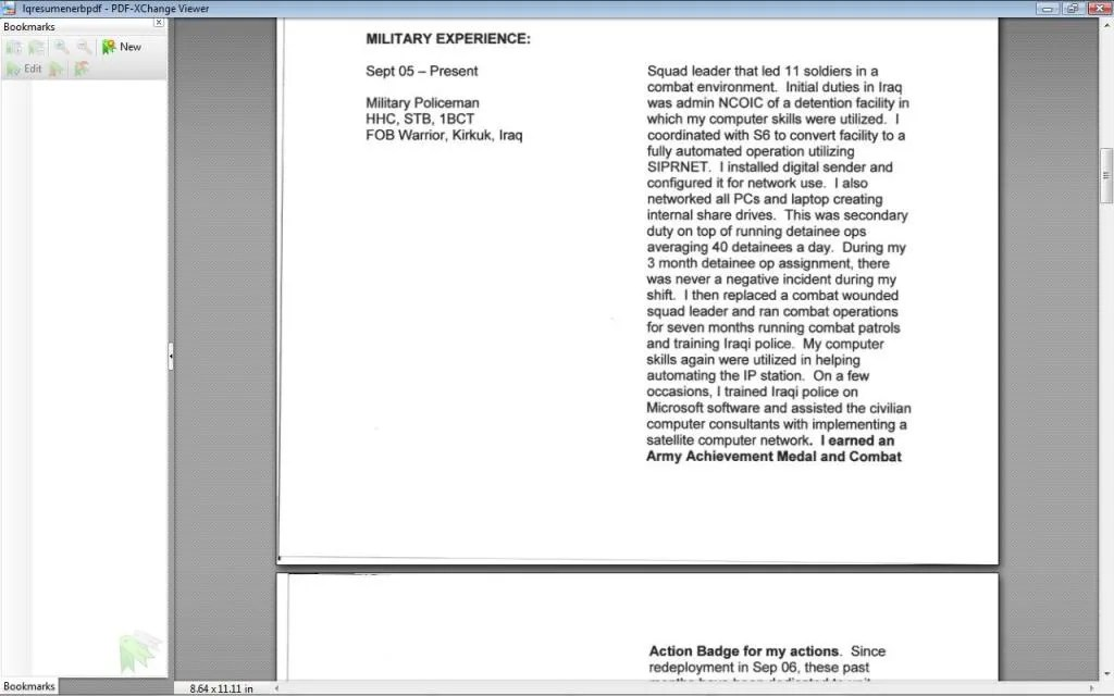 Warrant Officer Resume Review - Topic - resume review
