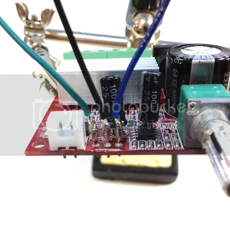 Any issues not using ground lead on potentiometer? - Techtalk