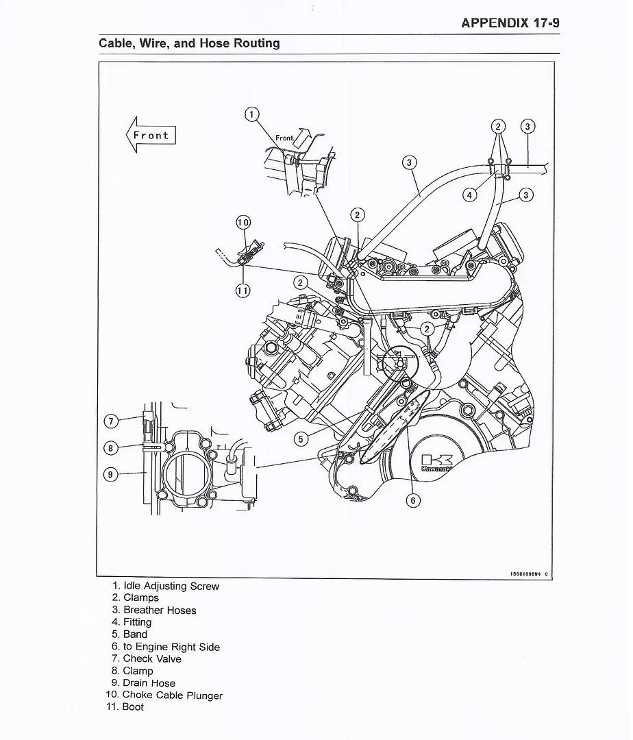 Kawasaki Teryx Engine Diagram Wiring Diagram