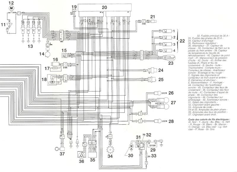 cbr 929 schema cablage