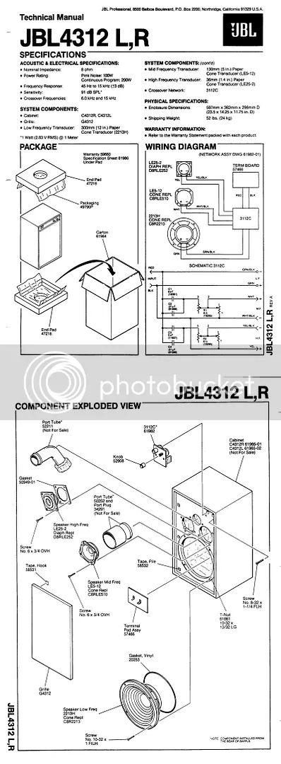 jbl crossover schaltplang
