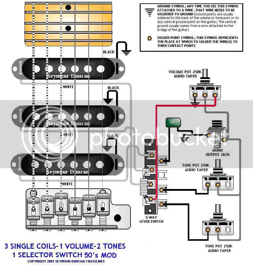 50s Strat Wiring Diagram Wiring Diagram
