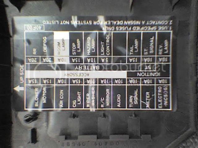95 240sx Fuse Diagram - Wiring Data Diagram