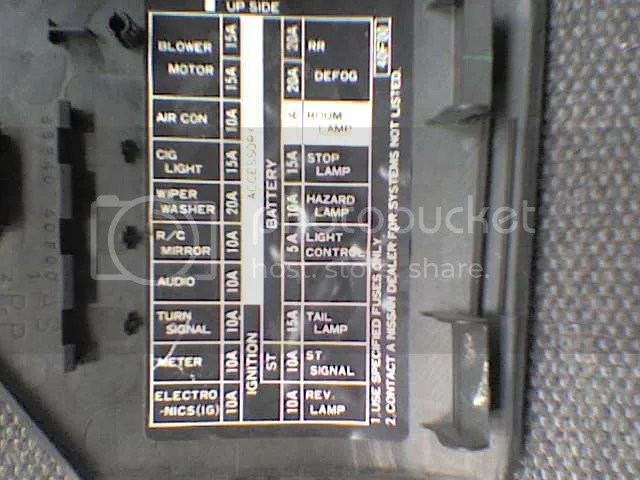 96 240sx Fuse Diagram - Wiring Data Diagram