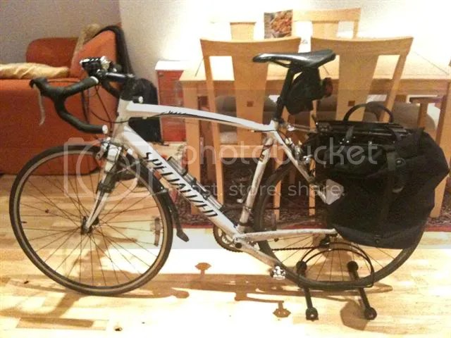 I Beam Rack And Bag On A Roadie Bikeradar Forum