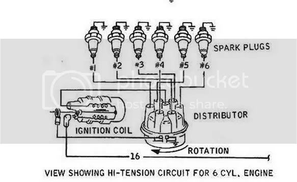 spark plug wire diagram for 1969 ford f250
