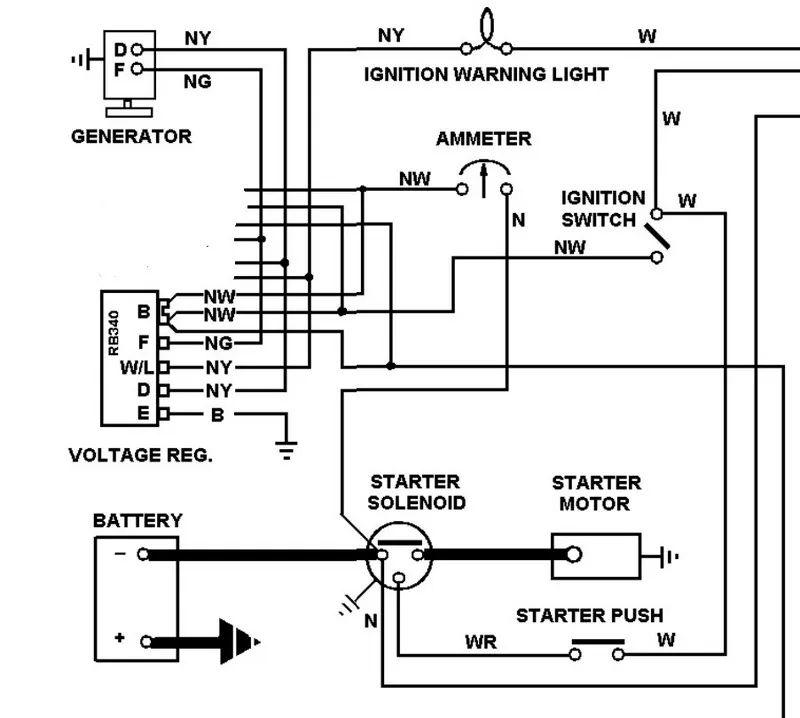 voltage regulator wiring diagram as well lucas voltage regulator