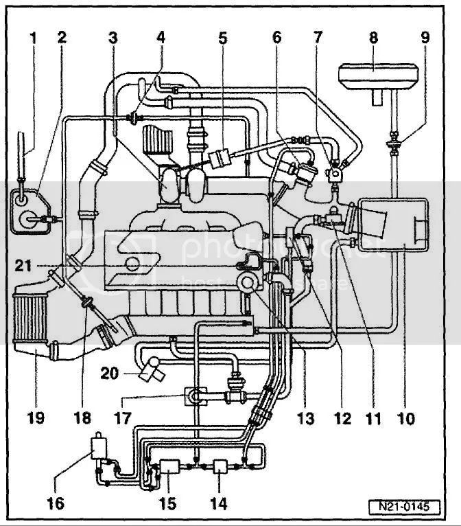 vw tdi vacuum diagram