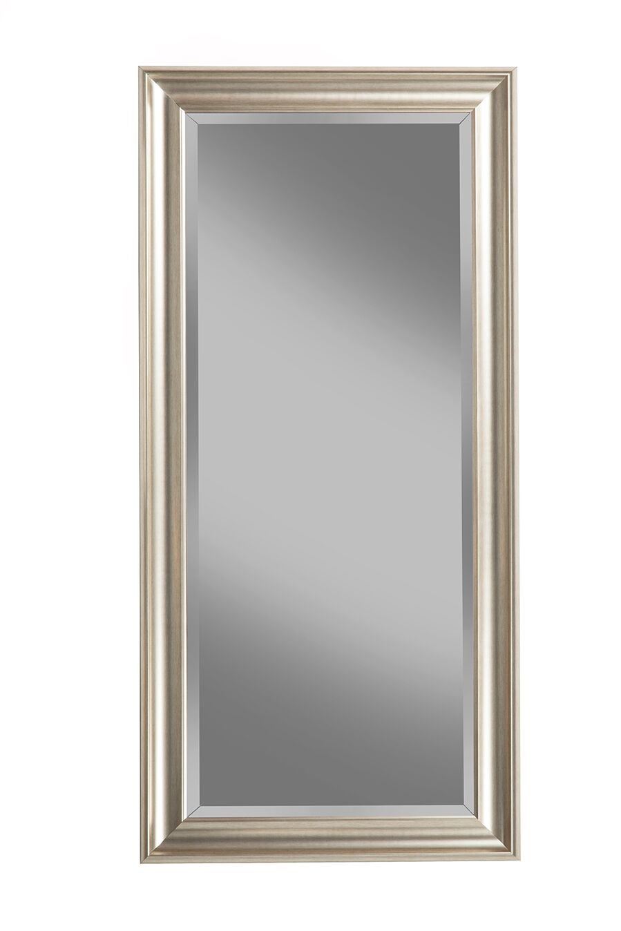 Beveled Mirror Trim Kits Full Length Leaner Mirror Champagne Silver 65