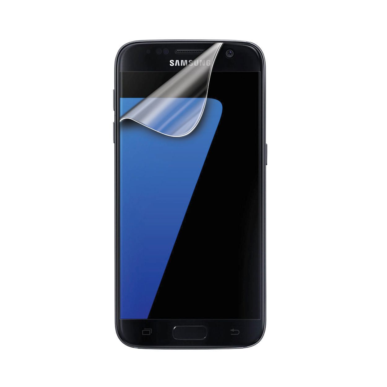 Samsung Screen Onn 2 Pack Screen Protector For Samsung Galaxy S7