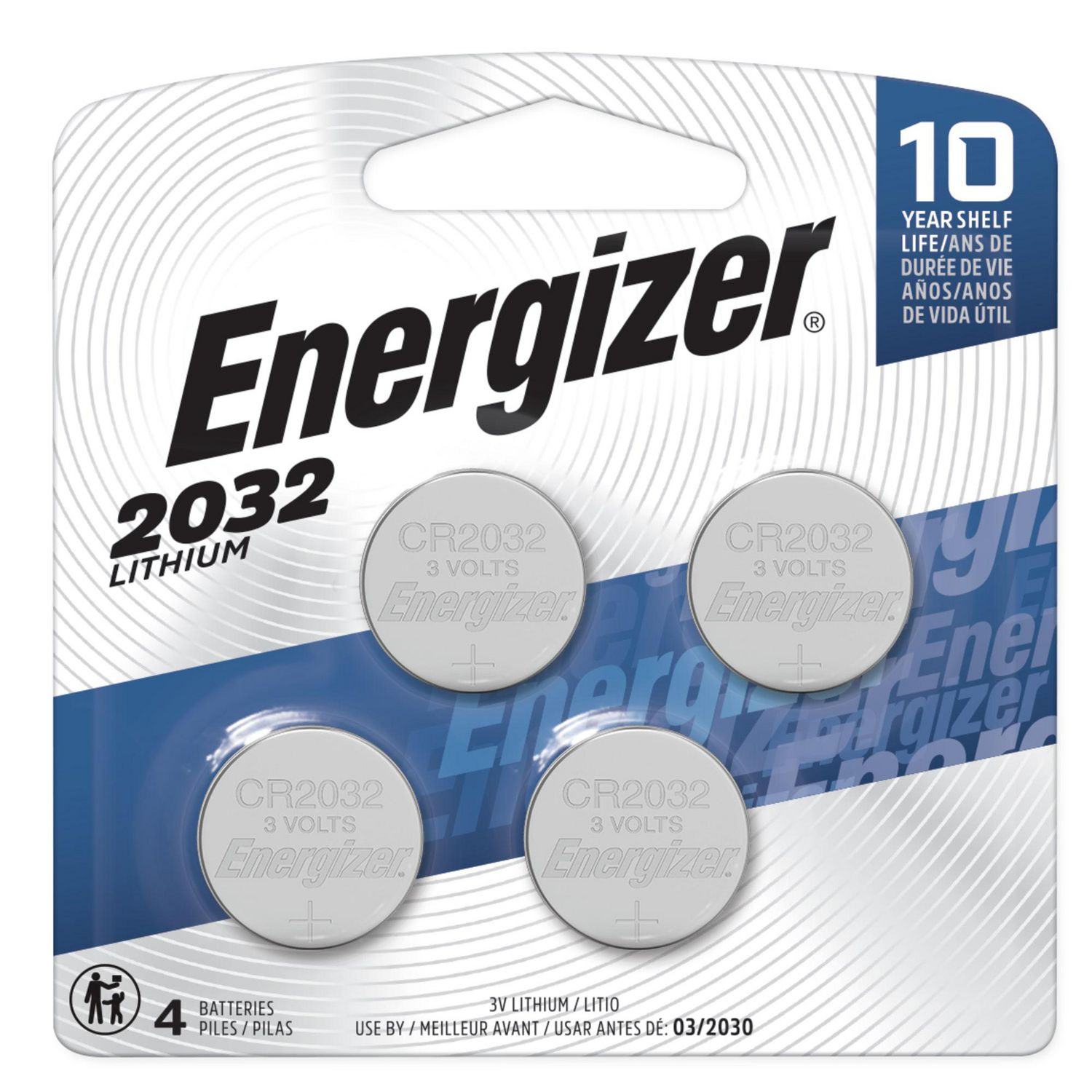 Batterie Cr2032 Energizer Coin Lithium Battery 2032bp 4