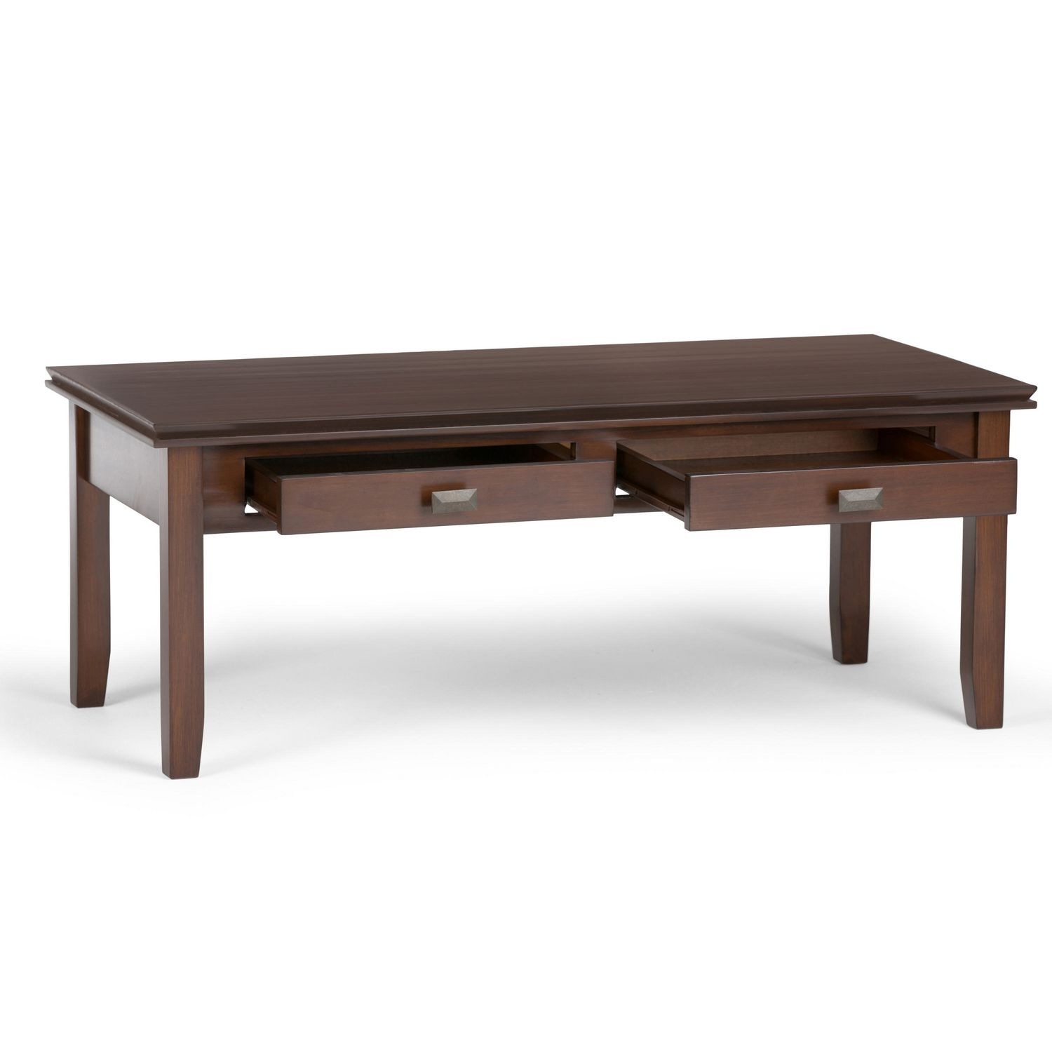 Couchtisch Two Colour Wyndenhall Stratford Medium Auburn Brown Coffee Table