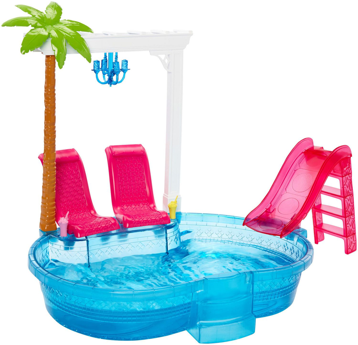 Pool Kaufen Real Barbie Glam Pool Playset