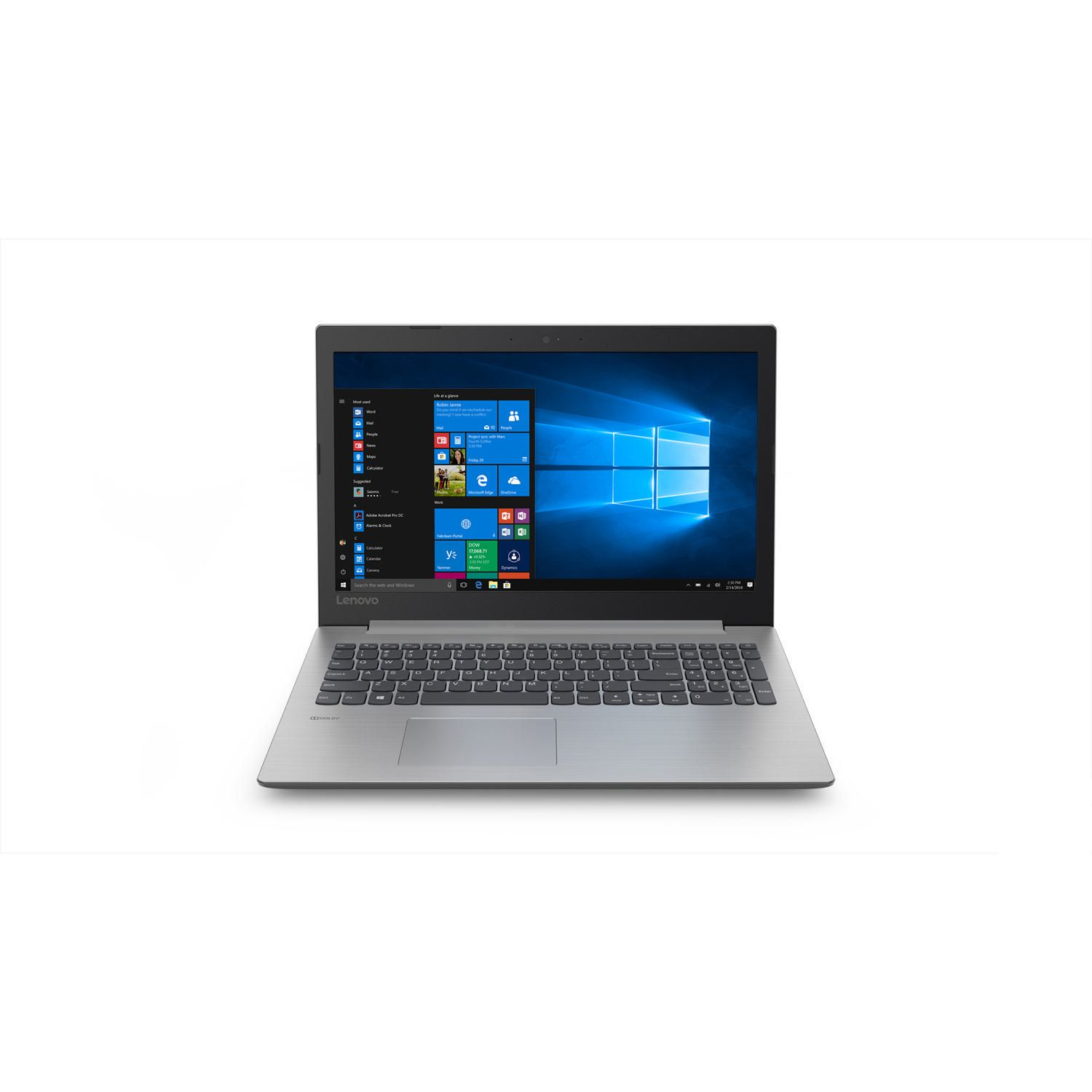 Lenovo Laptop Lenovo Ideapad 330 81de00laus 15 6 Laptop With Intel Core I3 8130u 2 2 Ghz Processor Platinum Grey