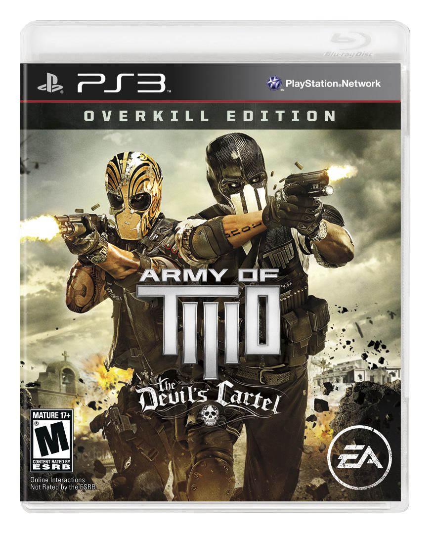 Edition For Ps3 Army Of Two The Devil Cartel Overkill Edition Ps3 Walmart