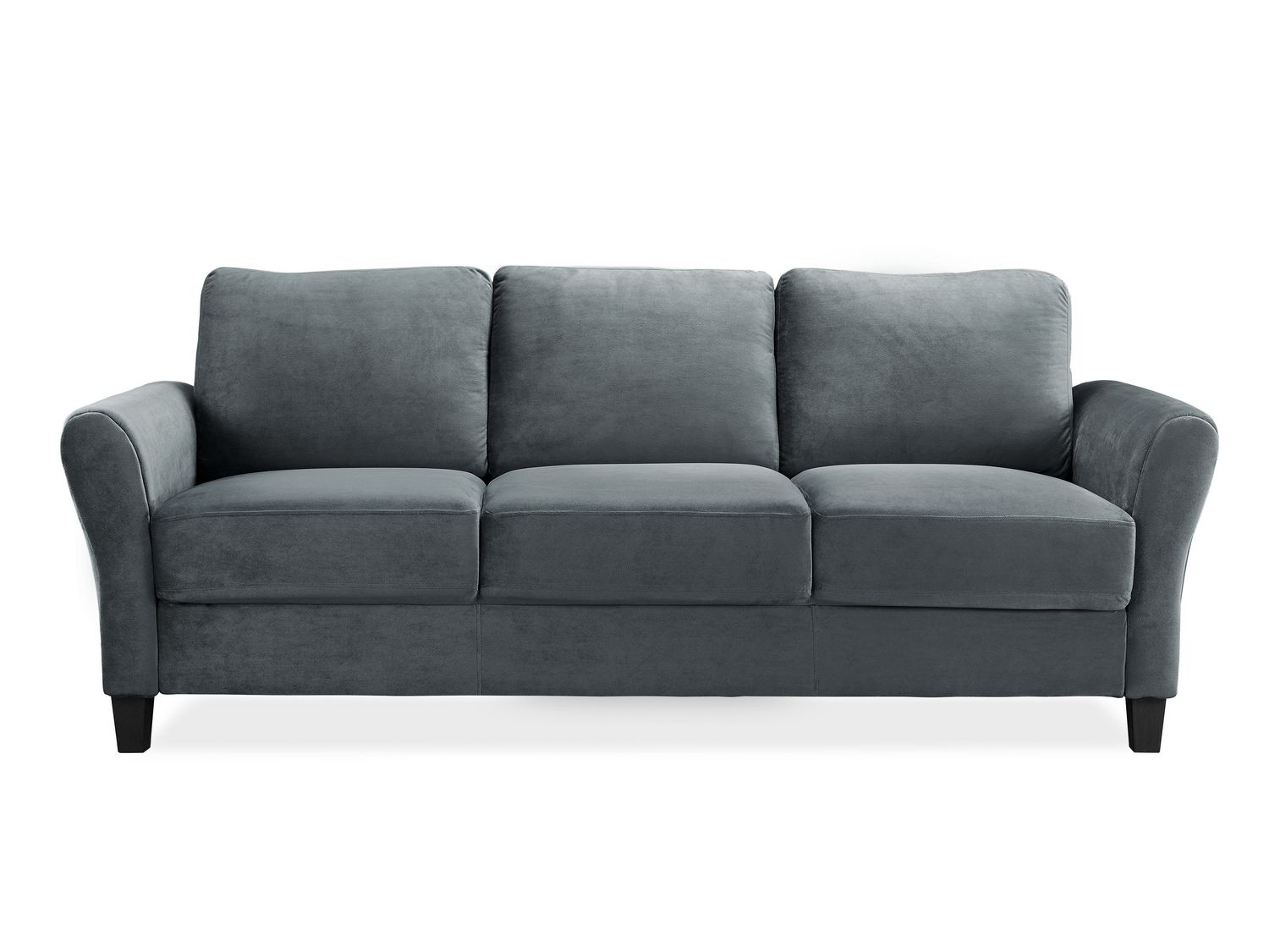 Corduroy 3 Seater Sofa Lifestyle Solutions Alexa Ready To Assemble Sofa