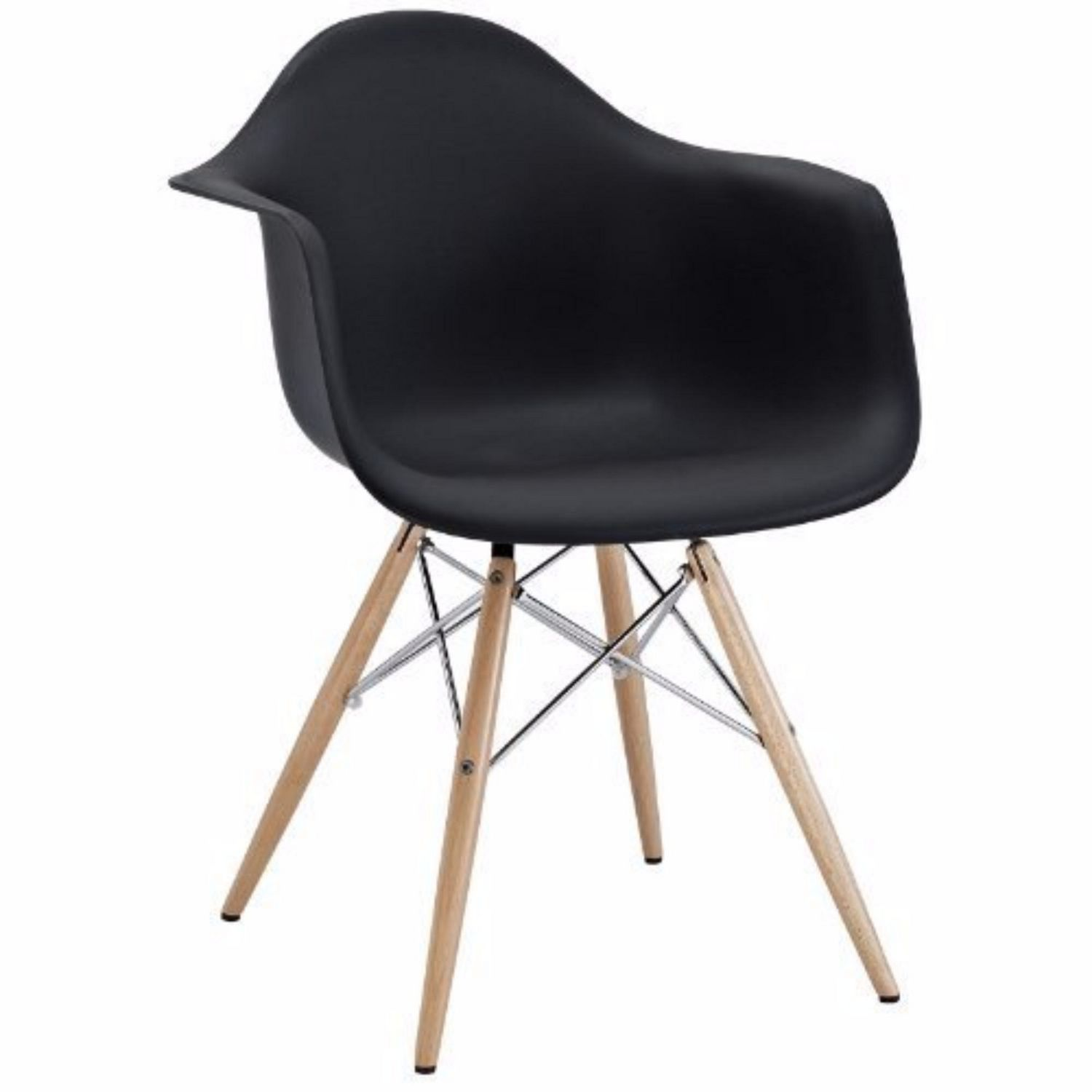 Eames Chair Dar Nicer Furniture Black Wooden Legs Eames Dar Chair