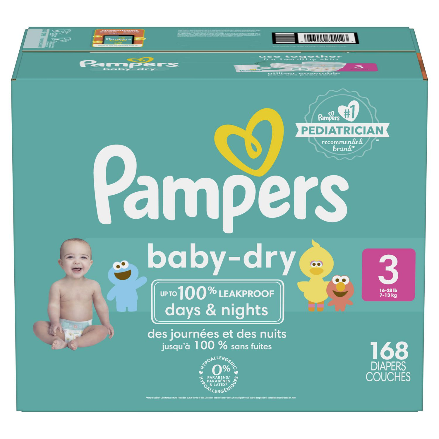 Couche Pampers Prix Pampers Couches Baby Dry Format Super Économique